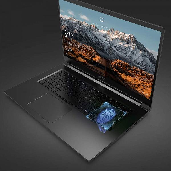 В новой модели ноутбука Acer Aspire 7 используется CPU Intel с GPU AMD