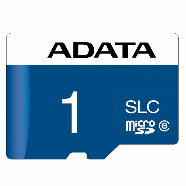 В картах памяти microSD Adata IUDD362 используется флеш-память SLC NAND