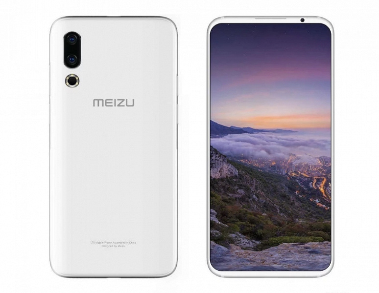 Всё-таки двойная: официальное изображение Meizu 16s позволяет понять, сколько модулей будет в основной камере смартфона