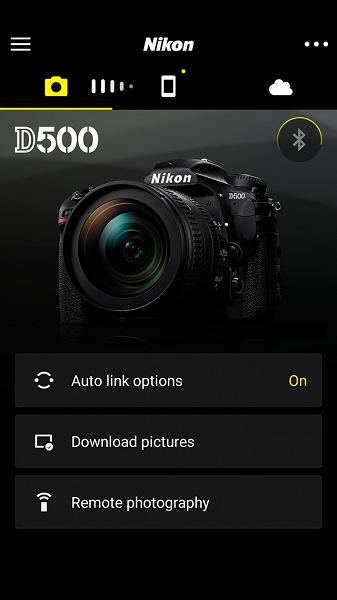 Обновление прошивки для камеры Nikon D500 добавляет возможность подключения к устройствам с приложением SnapBridge по Wi-Fi