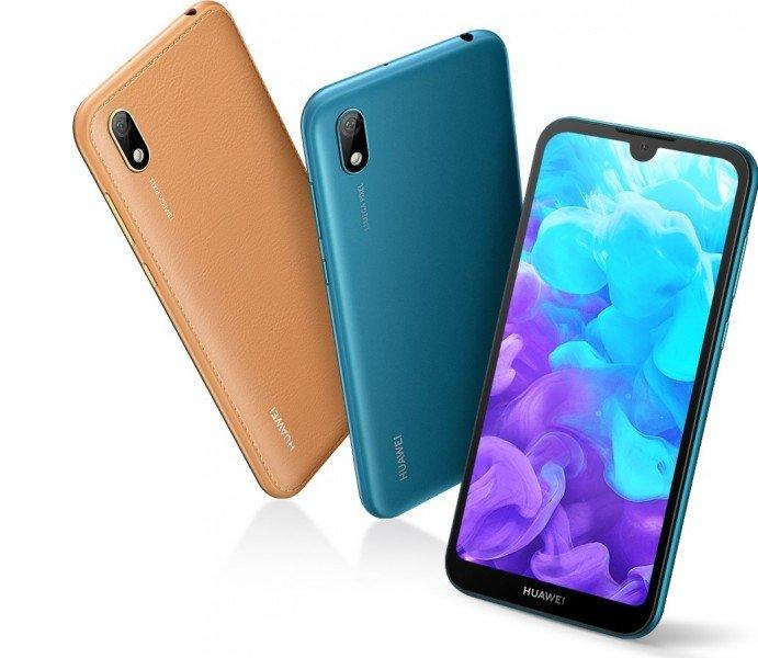 Представлен бюджетный смартфон Huawei Y5 2019: платформа Helio A22, тыльная панель под кожу и одинарные камеры