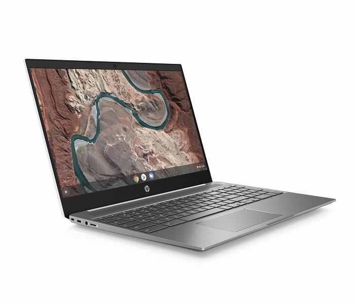 Нетипичный хромбук. HP Chromebook 15 выделяется и дизайном, и набором портов, и производительностью