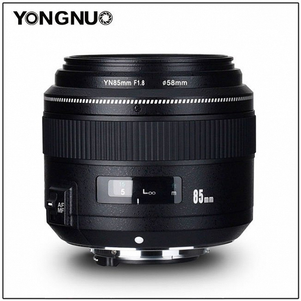 Объектив Yongnuo YN85mm F1.8 стал доступен в варианте с креплением Nikon F
