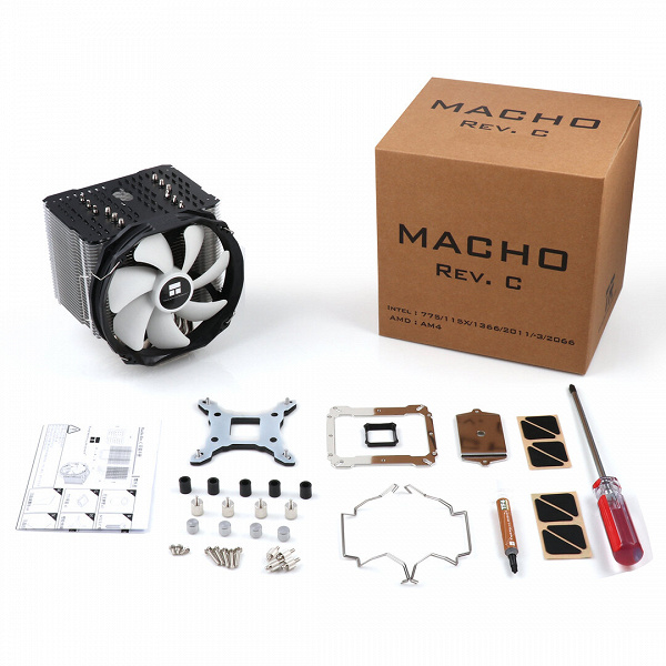 Новейший кулер Thermalright Macho Rev. C из процессоров AMD поддерживает только те, которые имеют исполнение AM4