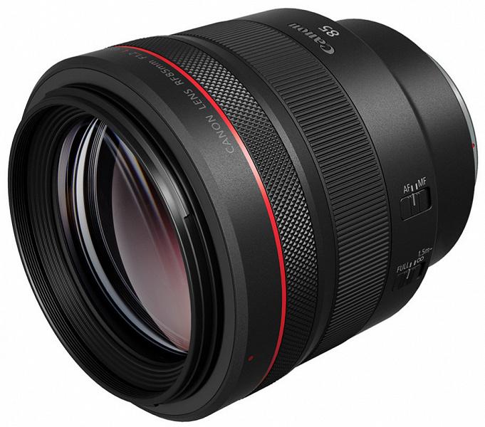 Появились качественные изображения объектива Canon RF 85mm f/1.2 L USM