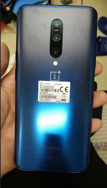 «Живые» фото смартфона OnePlus 7 Pro в новом цвете Nebula Blue перед анонсом