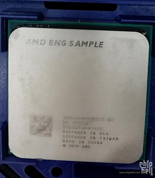 В Сети появилось фото процессора AMD Ryzen, который способен работать на частоте 5 ГГц