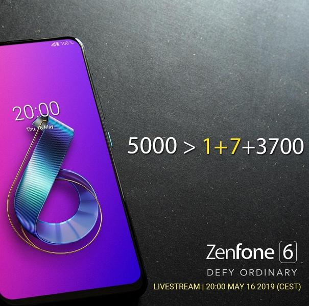 Asus ZenFone 6 порадует не только уникальной конструкцией, но и отличной автономностью