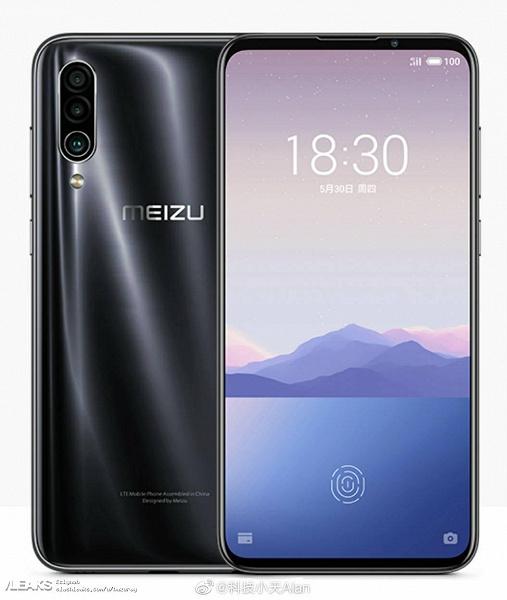 Качественные официальные изображения Meizu 16Xs демонстрируют смартфон в четырех цветах