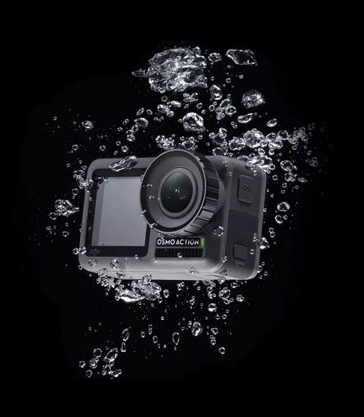 Представлена экшн-камера Osmo Action: два экрана и цена $350