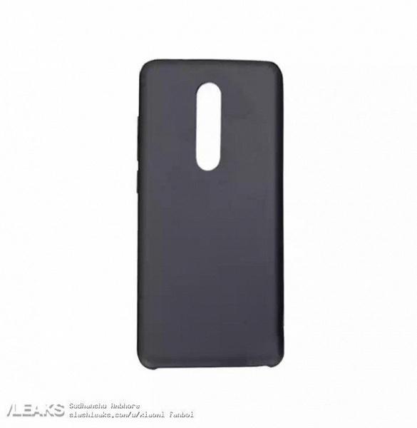 Изображение чехла смартфона Redmi K20 свидетельствует о тройной камере, размещенной по центру тыльной панели