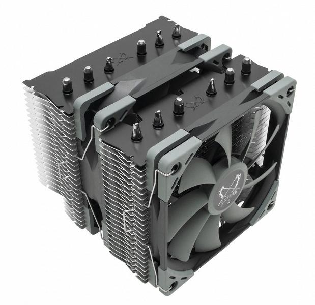 Начались продажи процессорных охладителей Scythe Fuma 2