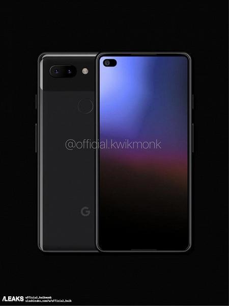 Свежие рендеры Google Pixel 4 демонстрируют новый дизайн