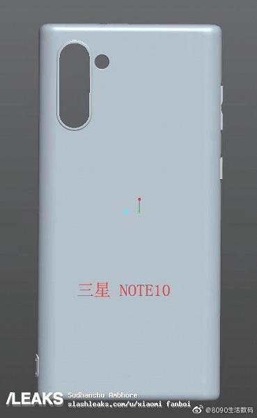 Галерея дня: отсутсвие Samsung Galaxy Note10 кнопки Bixby и разъёма для наушников подтверждено