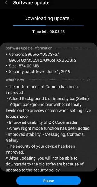 Как у Galaxy S10. Прошлогодние флагманы Samsung Galaxy S9 и S9+ получили специальный ночной режим съёмки