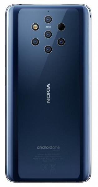 Флагманский смартфон Nokia 9.1 PureView выйдет в октябре с модемом 5G, SoC Snapdragon 855 и серьезно доработанной камерой Light