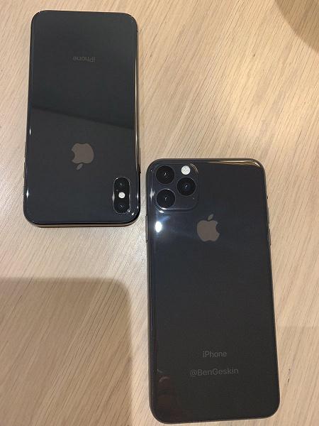 Очень реалистично. Новый iPhone XI рядом с прошлогодним на одном изображении