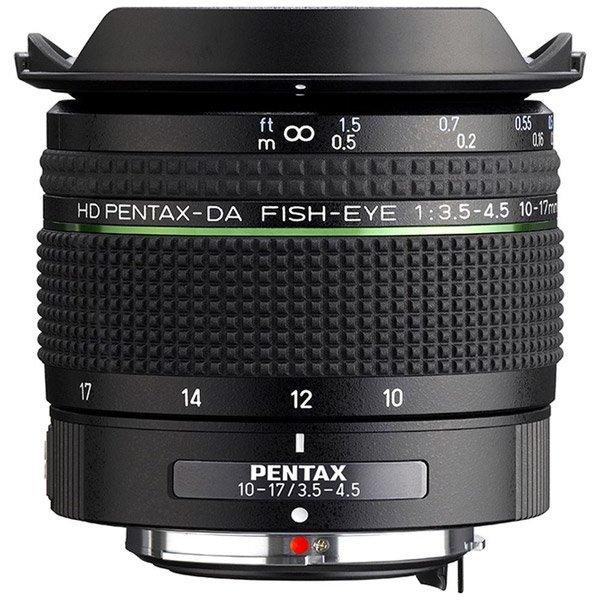 Названа дата анонса объектива HD Pentax-DA Fisheye 10-17mm f/3.5-4.5 ED