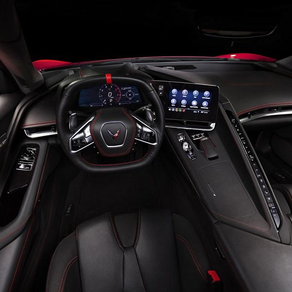 Спортивный автомобиль Chevrolet Corvette Stingray восьмого поколения получил звуковую систему Bose Performance с 14 динамиками