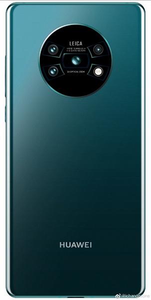 Рендер смартфона Huawei Mate 30 Pro демонстрирует необычное оформление камеры