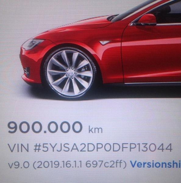 В Германии обнаружилась Tesla Model S с пробегом в 900 000 км