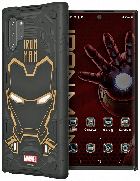 Samsung Galaxy Note10 и Galaxy Note10+ получили умные чехлы с Iron Man, Deadpool, Captain America и Spider-Man