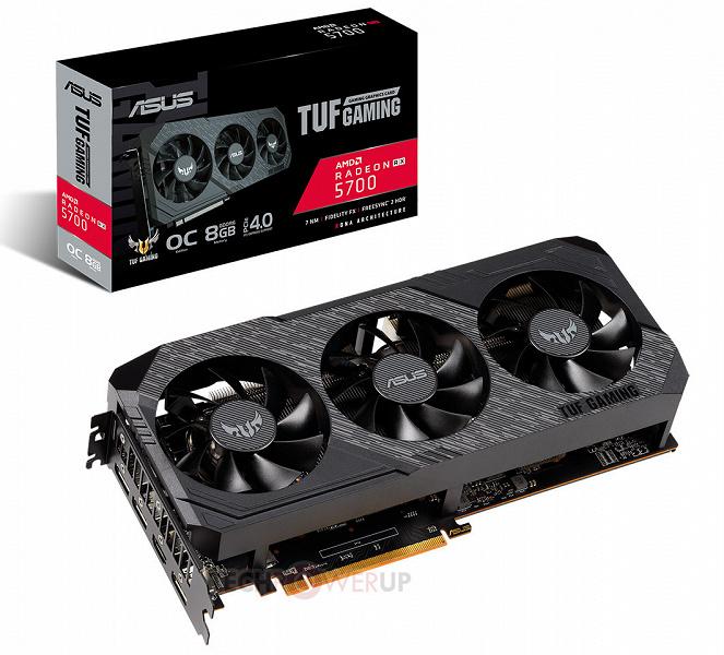Представлены 3D-карты Asus TUF Gaming X3 Radeon RX 5700