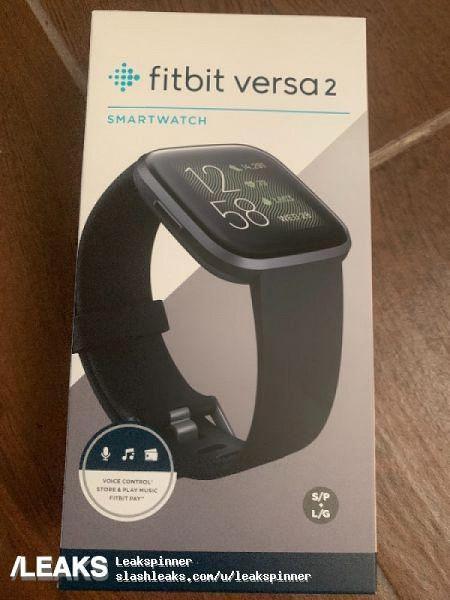 Распаковка умных часов Fitbit Versa 2 появилась еще до анонса