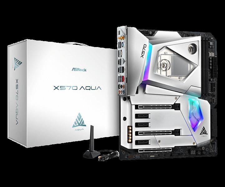 Представлена системная плата ASRock X570 Aqua