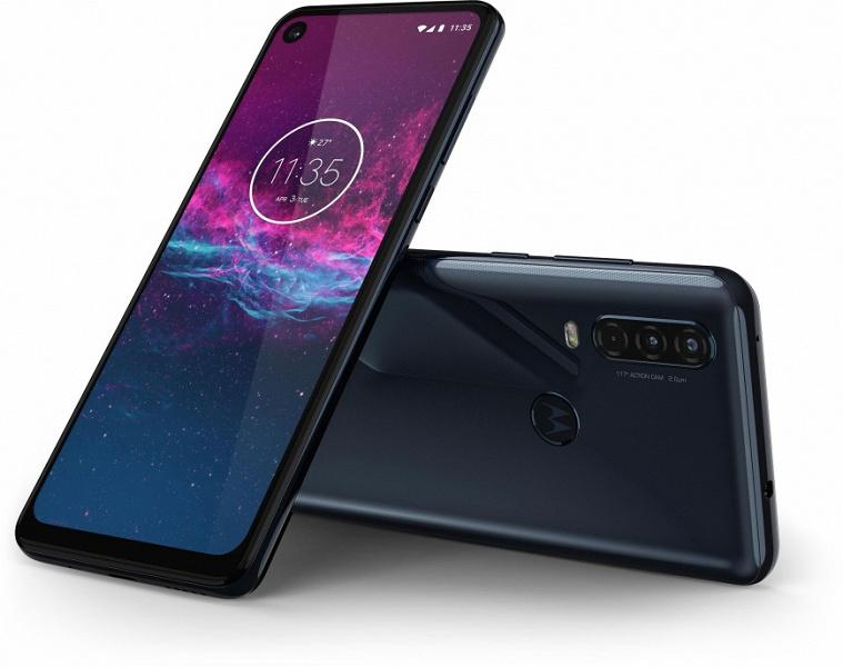 Экшн-камера в смартфоне. Стартовали продажи Motorola One Action в России по европейским ценам