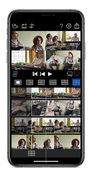 Приложение Roland 4XCamera Maker позволяет синхронно снимать видео несколькими смартфонами Apple iPhone