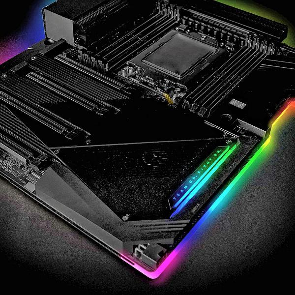 Фото дня: огромная системная плата для новых процессоров AMD Ryzen Threadripper