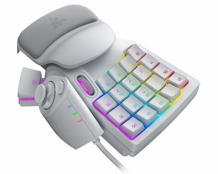 В необычной игровой клавиатуре Razer Tartarus Pro используются аналоговые оптические переключатели