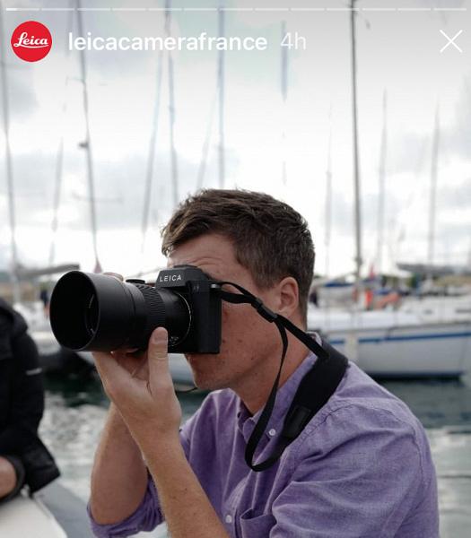 Появились фотографии камеры Leica SL2
