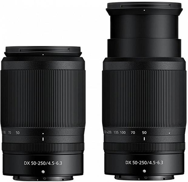 Объектив Nikkor Z DX 16-50mm f/3.5-6.3 VR будет складным и очень компактным