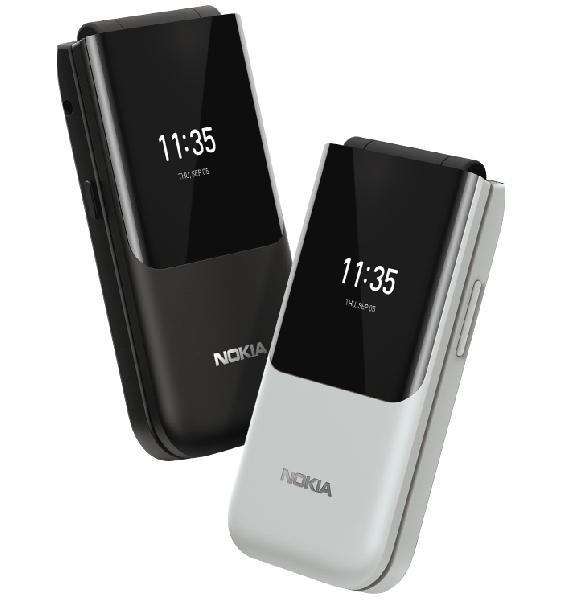«Исторический» дизайн плюс Facebook и WhatsApp. Переиздание легендарной раскладушки Nokia 2720 Flip доступно в России