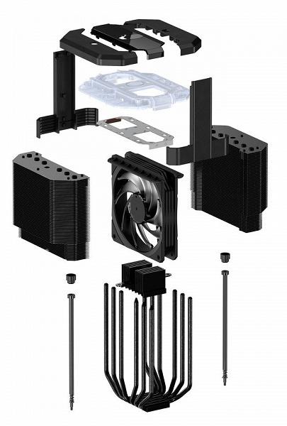 Система воздушного охлаждения Cooler Master MasterAir MA620M совместима с большинством современных настольных процессоров