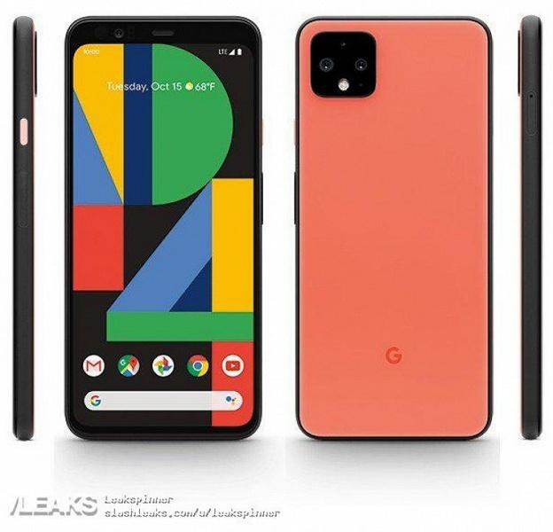 Флагманский смартфон Google в новом цвете на первом официальном рендере