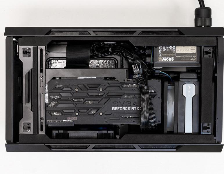 Компактный игровой ПК Steiger Dynamics Forge оснащен СЖО
