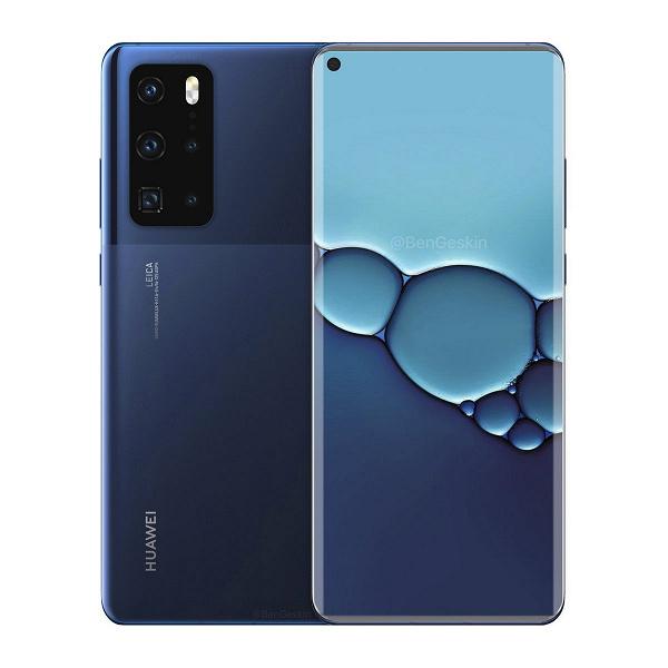 Качественное изображение подтверждает дизайн Huawei P40 Pro