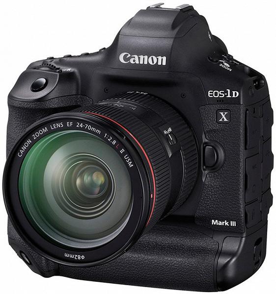 Камера Canon EOS-1D X Mark III может снимать видео с разрешением 5.5K в формате RAW