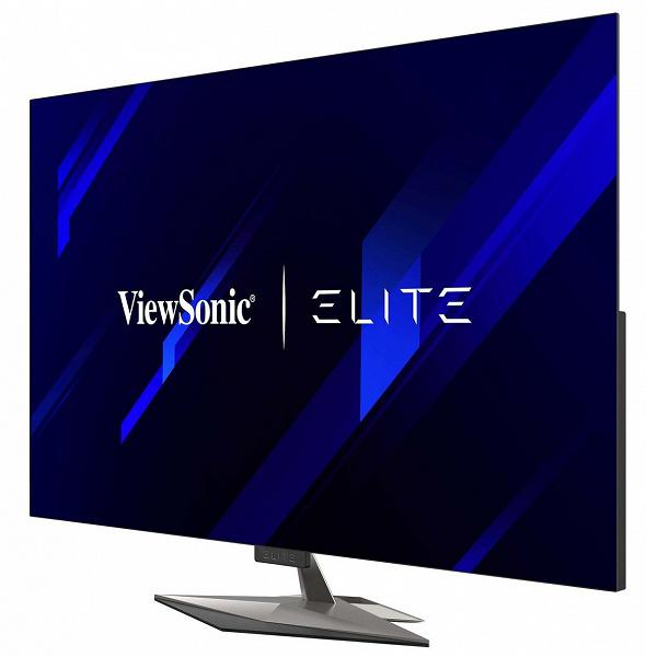 Основой игрового монитора ViewSonic XG550 стала 55-дюймовая панель OLED 4K