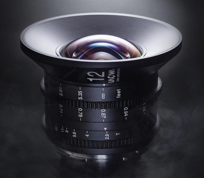 Опубликованы технические характеристики объектива Laowa 12mm t/2.9 Zero-D Cine
