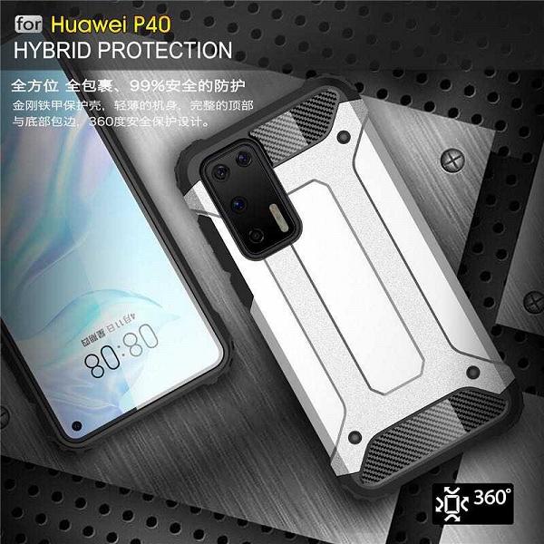 Качественные изображения показывают Huawei P40 со всех сторон