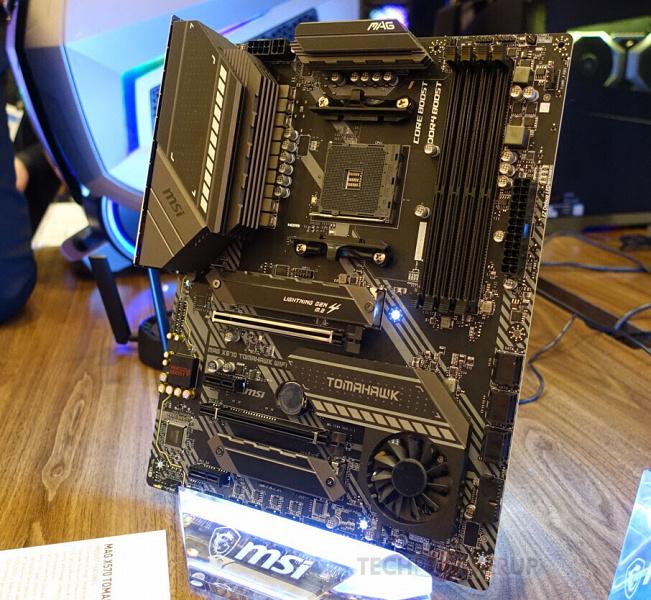 MSI добавляет в линейку Tomahawk системную плату на чипсете AMD X570