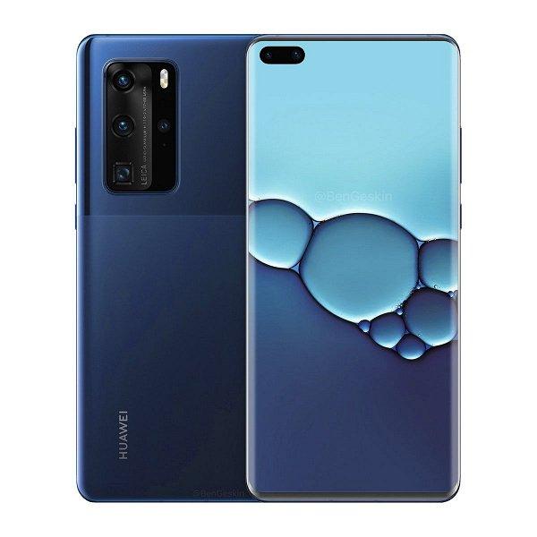 Монструозная камера Huawei P40 Pro показана на примере Huawei P30 Pro