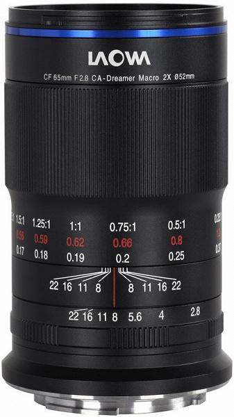 Laowa 65mm F2.8 2x Macro APO — первый макрообъектив, разработанный Venus Optics специально для беззеркальных камер формата APS-C