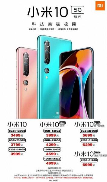 Официально: никакого дешевого Xiaomi Mi 10 не будет