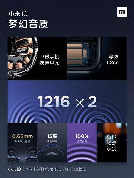 Xiaomi Mi 10 порадует и звуком, и автономностью
