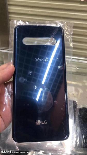 Первое официальное изображение LG V60 ThinQ